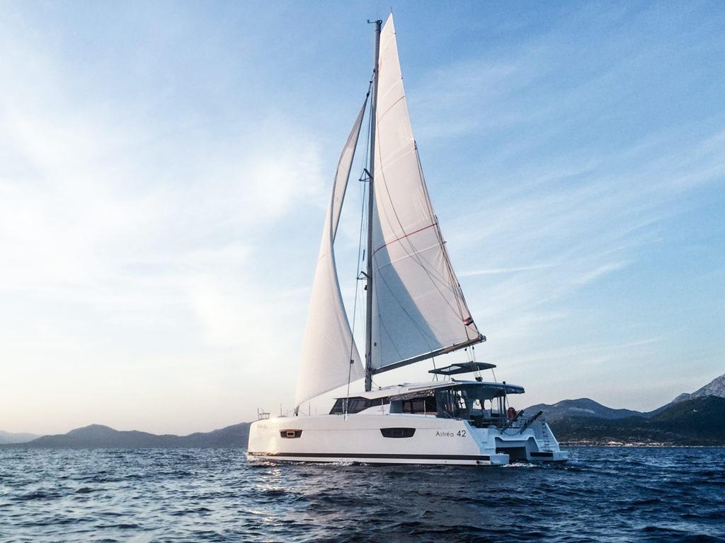 Alni Sailing - Fountaine Pajot Astrea 42 – Quatuor, Oceanic Version -external view